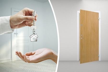 Säkerhetsdörrar nyckel Dörrakuten